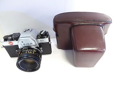 Leica R3 Electronic SLR film Camera with 50mm Summicron Mint Condition With Case