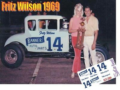 CD_2084 #14 Fritz Wilson   modified coupe   1:24 Scale Decals