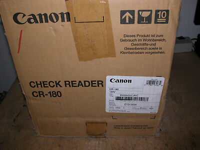 Canon Cr-180 Image Formula Check Scanner M11046