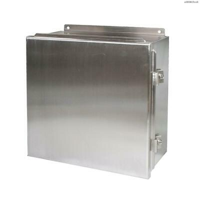 KeChen Flanged Stainless Steel Electrical Enclosure 12 × 12 × 6 In