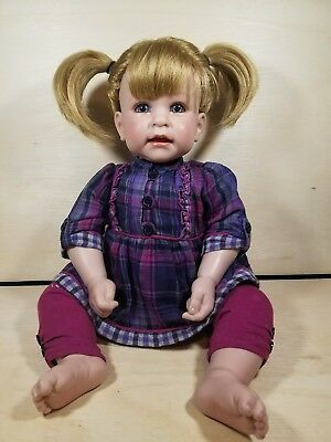 """Adora 18"""" Weighted Toddler Baby Doll (Blonde hair, blue eyes, Original Outfit)"""