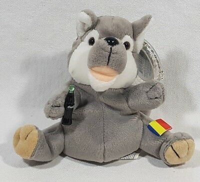 Coca Cola International Beanie Baby Collection 1999 Streak Romania 0246