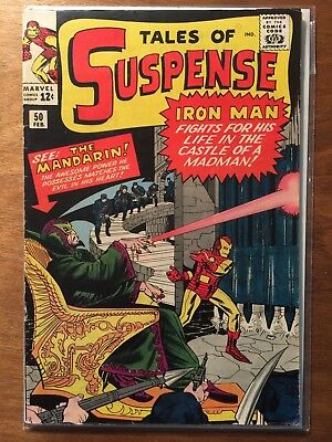 Tales of Suspense #50 GD+