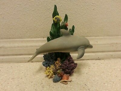 RARE sea world extinction is forever collectable figurine bottlenose dolphin