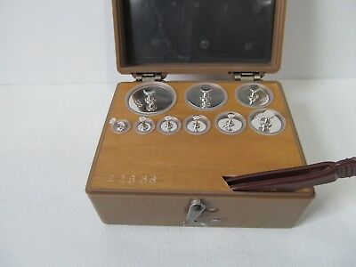 Vintage Ainsworth Metric Scale Weights Are  Vnm