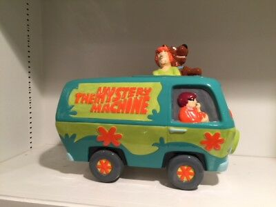 SCOOBY DOO MYSTERY MACHINE COOKIE JAR - Mint in Box