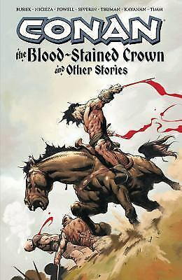 Conan: The Blood-Stained Crown & Other Stories, Busiek, Kurt, Very Good Book