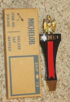 Vintage Michelob Beer Gold Eagle Figural Tap Handle-New In Box-Very Nice-Sign