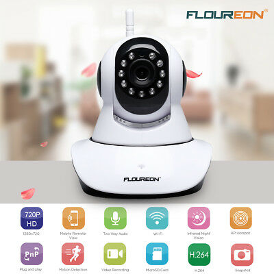 720P HD Zoom IP Camera Security WiFi Wireless PTZ 2Way Audio Baby Pet Monitor AU