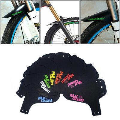 MTB Mountain Bike Front Bicycle Fender Mudguard Mud Guard Accessory Unique