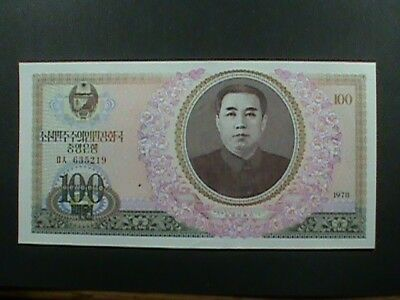 KOREA  100 Won  1978  UNCIRCULATED  =  extra  notes  ship  FREE !