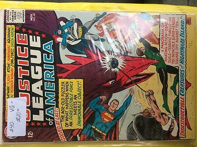 #40  Justice League Of America  Vg-   Sale 50% To 70% Discount