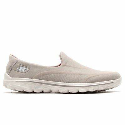 Skechers Go Walk 2 SUPERSOCK TAUPE Women's Comfort Walking Shoes ALL SIZES
