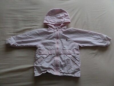 Baby Gap Girls Pale Pink Hooded Jackets Size 3 Years