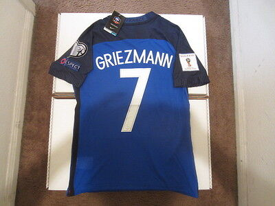 new product eedfa 18750 NIKE GRIEZMANN FRANCE Euro 2016 Vapor Match Player Issue Version Home Jersey