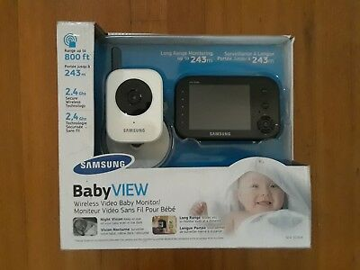 Samsung  Sew-3036W  Baby View Wireless Video Baby Monitor