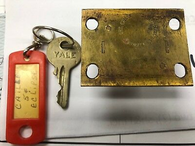 Caille Bros Yale Slot Machine  Lock From Eclipse Will Fit Other Uprights