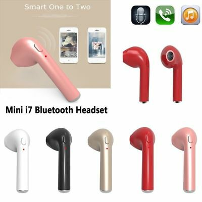 Wireless Earbud Bluetooth 4.1 Earphone Headset Headphone for iOS Android LOT EF
