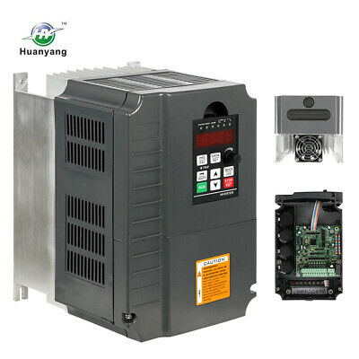 Hot Brand Huanyang 220V Inverter 7.5Kw Variable Frequency 10Hp 34A Drive Vfd