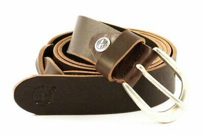 cc9e8cbe39b0 Ceinture pour femme en cuir TIMBERLAND M4372 Brown 968 Made in Italy