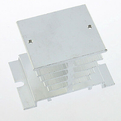 New Aluminum Heat Sink For Solid State Relay SSR Small Type Heat Dissipation U@F