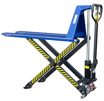 1000kg High Lift Hand Pump Push Pallet Jack Truck Trolley Mover 2 Year Warranty