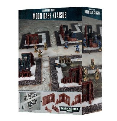 Realm of Battle Moon Base klaisus Games Workshop Warhammer 40.000 Terrain Mat