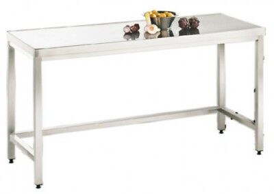 Stainless steel table 600 x 600 x 850