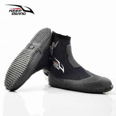 5MM Scuba Diving Winter Cold Proof High Upper Warm Fins Spearfishing Shoes 2018