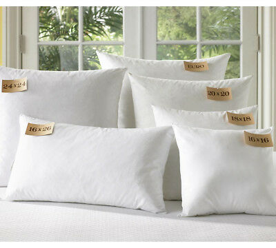 Luxury Extra Filled Hollowfibre Scatter Cushion Inners Inserts Pads All Sizes