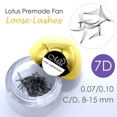 80 Fans Lotus Pre-made 7D Loose Pre-fan Lash Semi Permanent Eyelash Extension