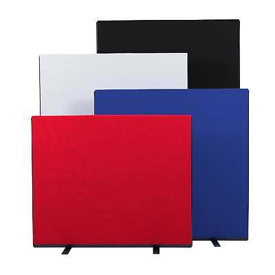 Office Screen Partition Divider 1200mm Wide Nyloop Fabric - 10 Colours 3 Heights
