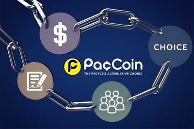 Paccoin PAC 50000 (50K) coins sent to your wallet. Crypto Ripple Stellar Bitcoin