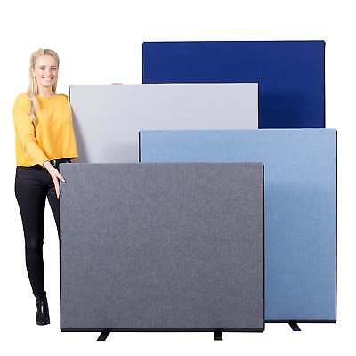 Office Screen Partition Divider 1200mm W Luxury Woolmix - 4 Heights 14 Colours
