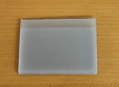 2 x Clear Credit Card holder refill insert for card holder 6 pockets  (12 cards)