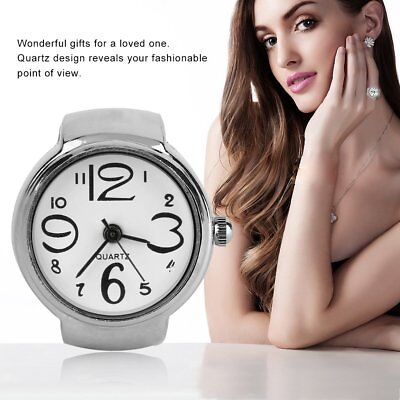 Ring Watch Quartz Finger Watches Rings Gifts Jewelry Steel Ring Watches FK