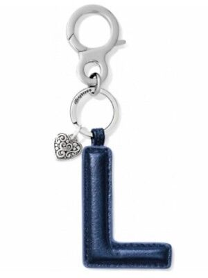 Brighton Initially Yours Handbag Fob Letter L