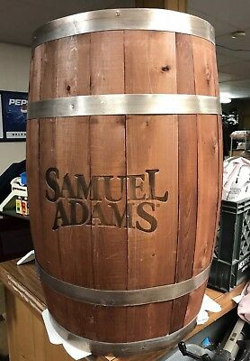 Sam Adams Beer Barrel