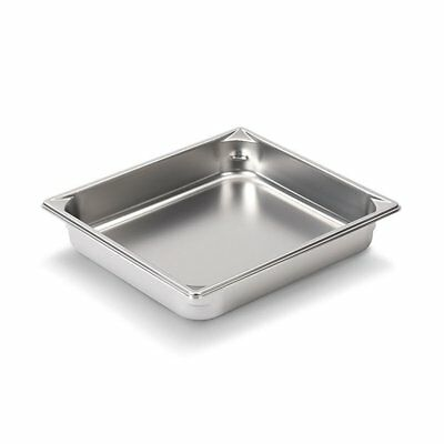 "Vollrath 30222 2-1/2"" Deep Super Pan V Half-Size Steam Table Pan"