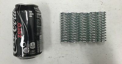 ".148"" Wire Compression Spring Lot Of 5"