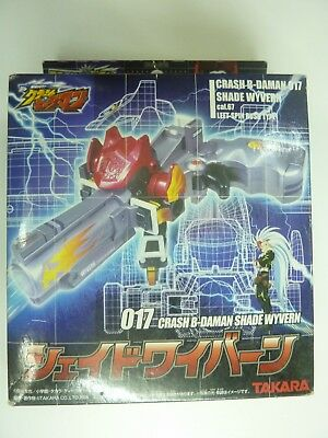 Crash B Daman #017 Shade Wyvern 3 Inch Model Takara