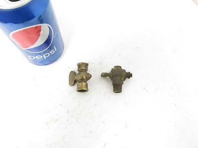 Antique Vintage Brass Gas Shut Off Valve Valves Stove Oiler Hit & Miss Engine