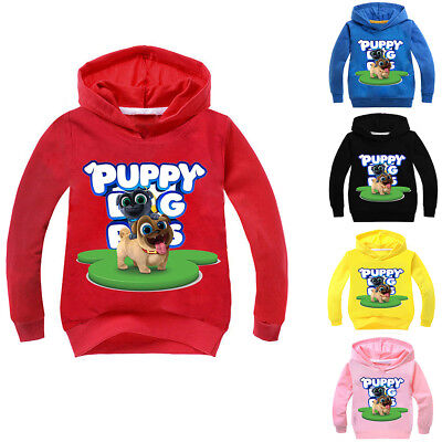 Boys Girls Puppy Dog Pals Kids Cartoon Spring Fall Sweatshirt Hoodies Pullover