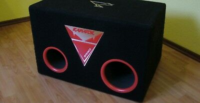rabiator 12 subwoofer Syrincs bandpass subwoofer 132 db 400 watt rms high end