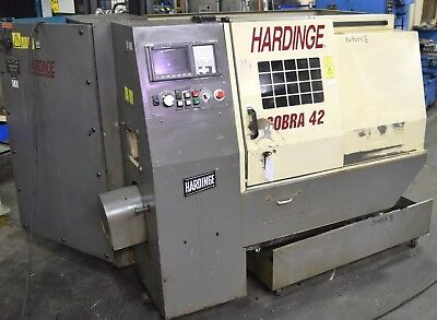 Hardinge COBRA 42 CNC Turning Center