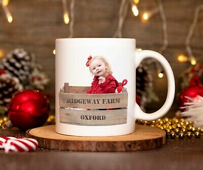 Personalised Photo Mug Cup Custom Printed With You're Picture
