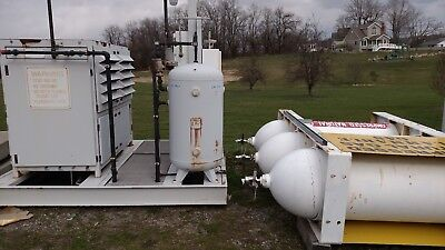 Bauer CNG Compressor 24 CFM 12 GGE used good condition