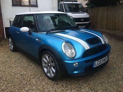2003 Mini Cooper S 1.6 Supercharged Pan Roof Leathers Xenons 85K