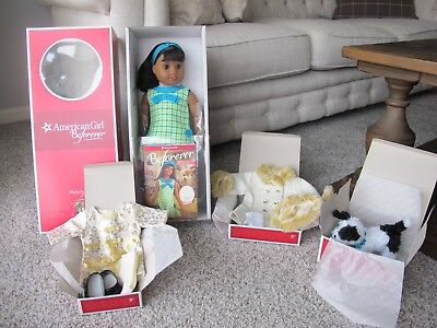 American Girl Melody Ellison 18 in Doll BRAND NEW  + COLLECTION NIB WOW