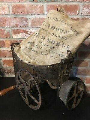 Vintage Barn-Find Cahoon Broadcast Seed Sower